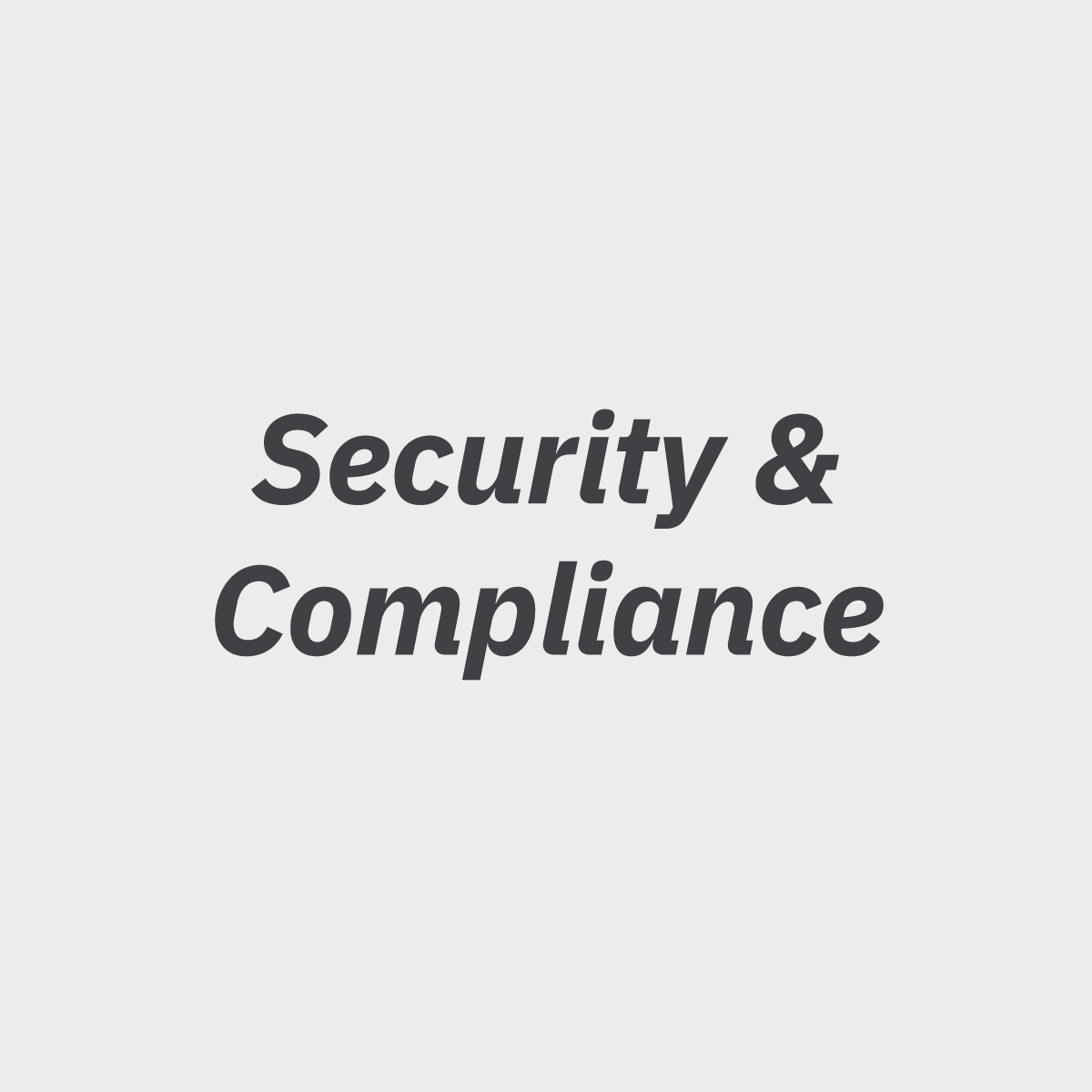 Get Dudley, Orlando, FL & New York, NY, Portfolio, Helene Dudley, Security & Compliance